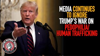 Media Ignoring Trump Fight On Trafficking; Will Biden's VP Give Him A Boost?