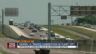 Easing I-4 traffic congestion in Plant City - Video