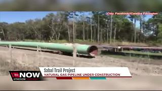 Sabal Trail Project under construction - Video
