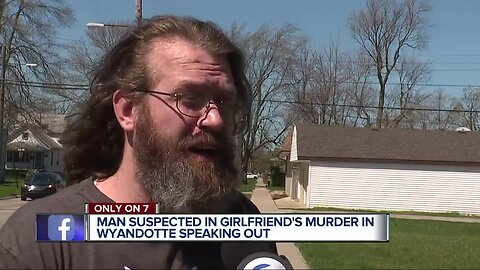 Murder suspect speaks out