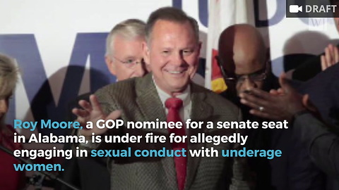GOP Members Ask Roy Moore to Step Aside if Sexual Allegations Are True