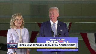 Biden wins Michigan primary by double digits