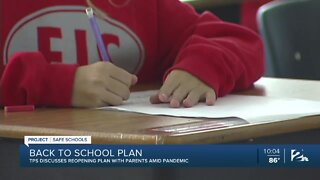 TPS discusses reopening plan with parents amid pandemic