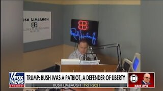 Mark Levin Gets Choked Up Remembering Rush Limbaugh's Legacy