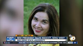 New San Diego State University president named - Video