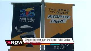 U.S. speed skaters prepare for the Olympics at Pettit National Ice Center - Video