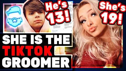 Lock Up This TikTok Star! Zoe LaVerne (19) Dating Connor (13) Is An ABUSRD Double Standard!