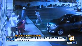 Man will not face charges over deadly brawl - Video