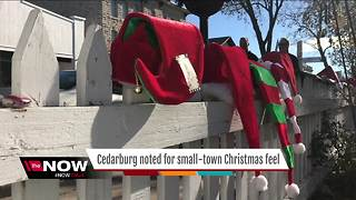 Cedarburg celebrates designation as top Christmas town - Video