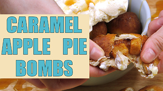 Caramel apple pie bombs - Video