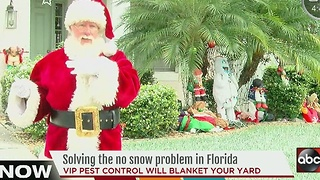 Pasco Co. company bringing 'white Christmas' to area families - Video