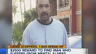 Reward offered in search for missing man with mental illness - Video