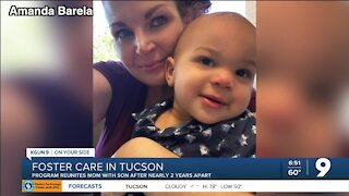 Tucson foster care program helps 2-year-old reunite with mom