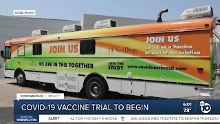 UCSD Health searching for volunteers to join vaccine trial