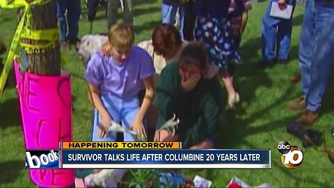Survivor talks life after Columbine shooting 20 years later