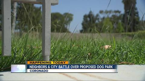 Residents, Coronado officials debate on planned dog park