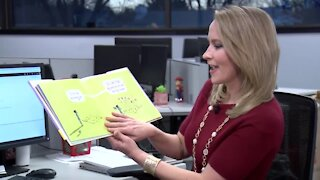 KMTV anchors and reporters read from Say Something by Peter Reynolds