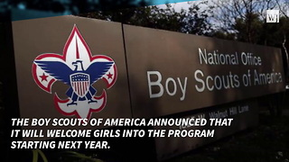 Boy Scouts Will Officially Admit Girls - Video