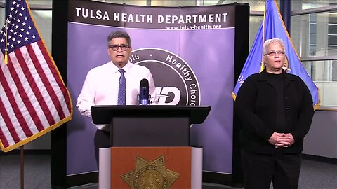 Officials with City, County, Tulsa Health provide COVID-19 Update