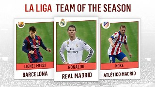 La Liga Team of the Season 2014-2015 - Video