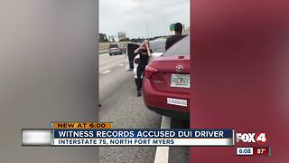Cape Coral woman charged with DUI - Video
