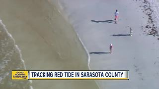 Beachgoers report effects of red tide - Video