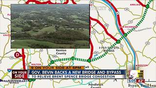Cincy Eastern Bypass picks up support from Kentucky Gov. Matt Bevin - Video