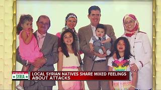 Local Syrian natives share mixed feelings about attacks