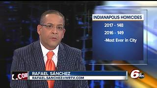 Indianapolis only two homicides from new deadly record - Video