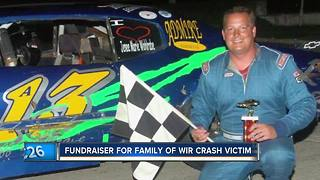Fundraiser planned for family of driver killed in raceway crash - Video