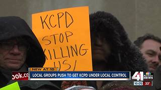 Renewed push for local control of KCPD
