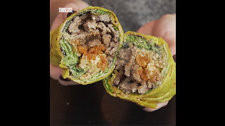 These Gourmet Wraps Are Made Fresh to Order - Video