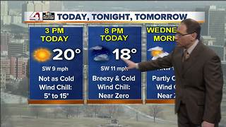 Jeff Penner Tuesday Afternoon Forecast Update 1 2 18 - Video