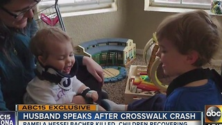 Chandler man speaks out after woman, 2 kids struck in crosswalk - Video