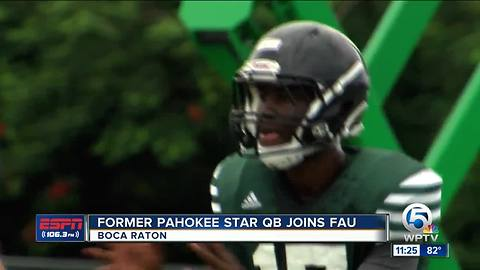 Fomer Pahokee Star Tyrone Smith joins FAU