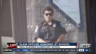 Slain North Las Vegas Police Officer Honored at School - Video