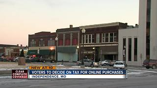 Independence to vote on online shopping tax - Video