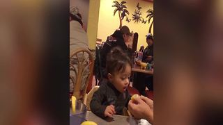 Little Boy's First Lemon Taste Test - Video