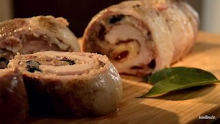 Traditional Stuffed Pork Tenderloin