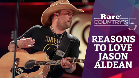Five Reasons to Love Jason Aldean   Rare Country's 5