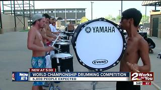 World Championship drumming competition - Video
