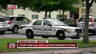 Tampa Police investigating drowning of 4-year-old boy with autism - Video