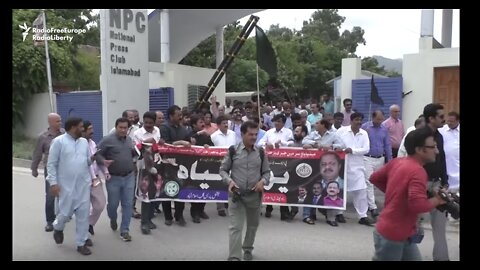 Journalists in Pakistan March to Protest Censorship