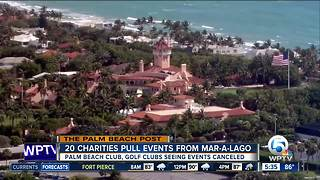 Kravis Center latest organization to pull event from Mar-a-Lago - Video