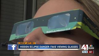Buyer beware: Your solar eclipse glasses could be fake - Video