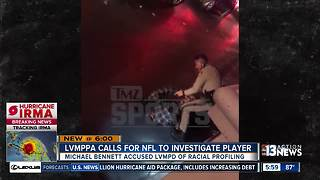 Las Vegas police union asks NFL to investigate Michael Bennett - Video