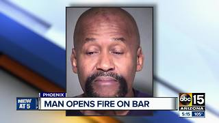 PD: Man arrested in west Phoenix bar shooting, two injured - Video