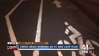 Crews begin work on KC Bike Loop plan