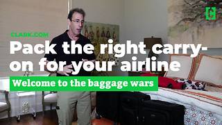 Pack the right carry-on for your airline