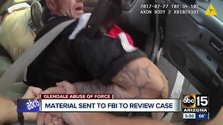 Material sent to FBI to review Glendale police tasing incident